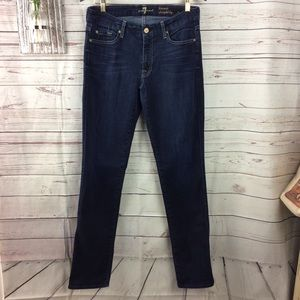 Seven for all mankind Kimmy straight leg jeans 32